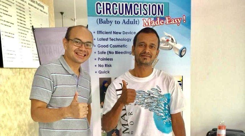 non muslim circumcision at klinik dr hasbi