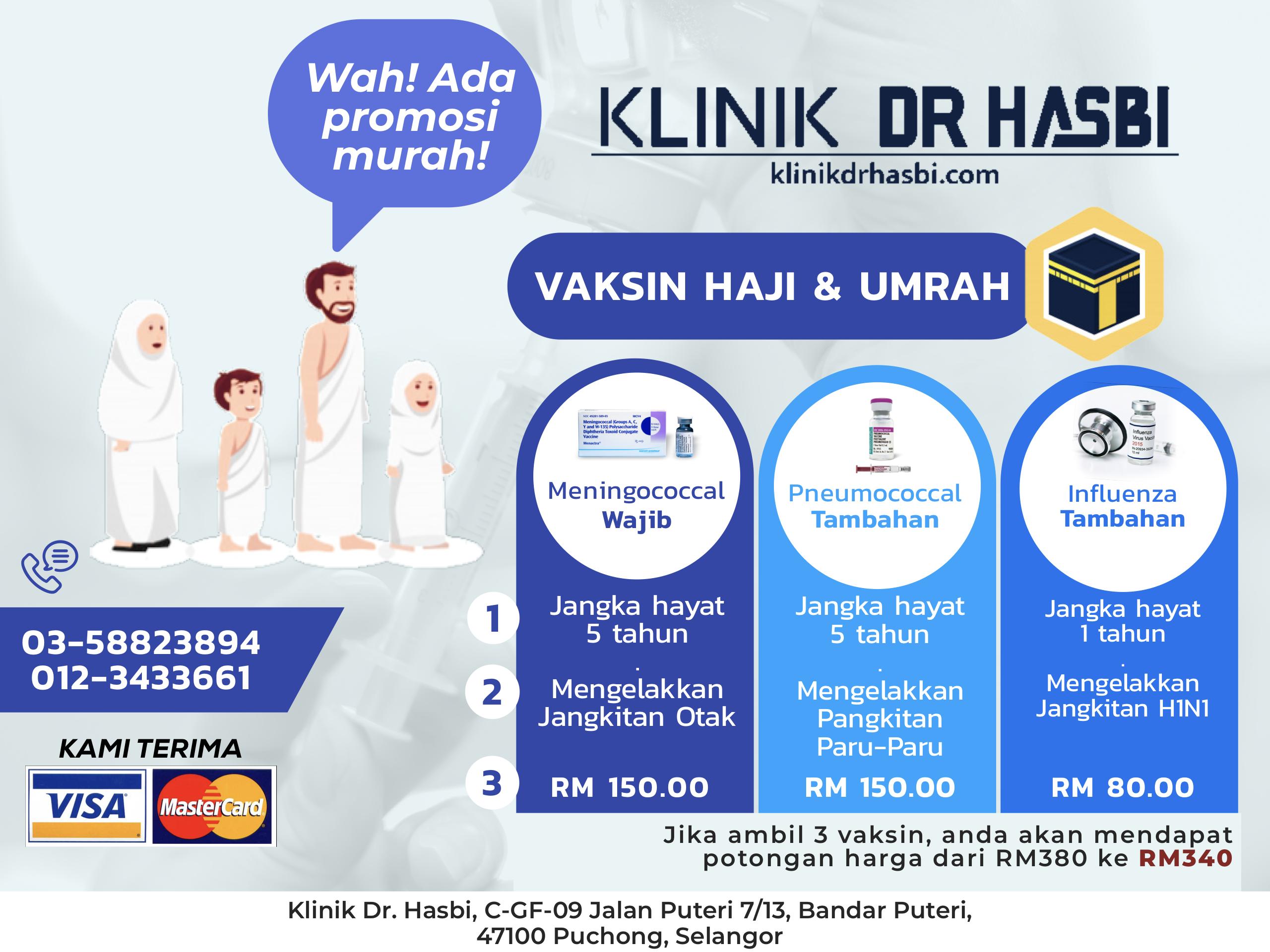 promosi vaksin umrah dan haji